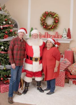 Bella and Santa 15