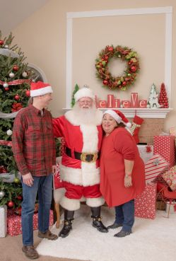 Bella and Santa 16